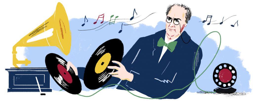Emile Berliner google doodle