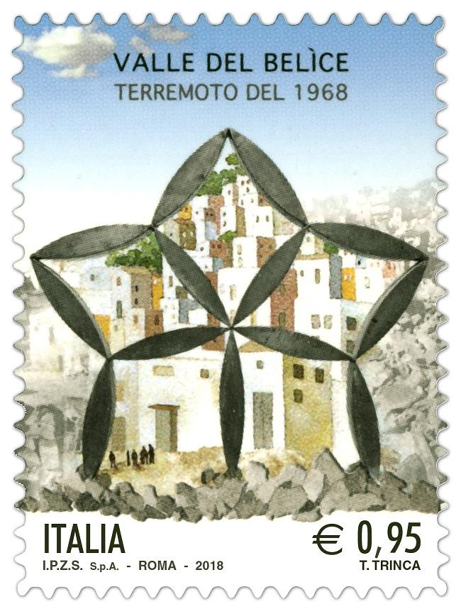 francobollo terremoto Belice