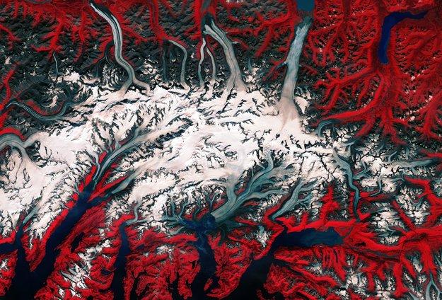 Ghiacciaio Columbia, Alaska