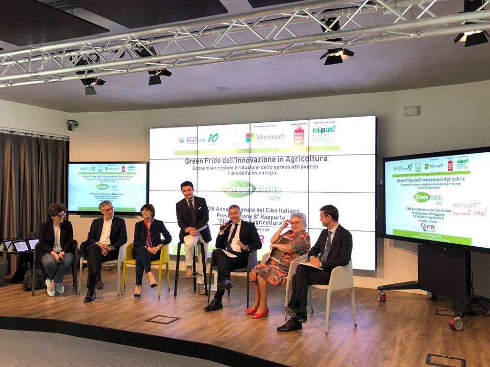 Green Pride dell'Innovazione in Agricoltura 2018