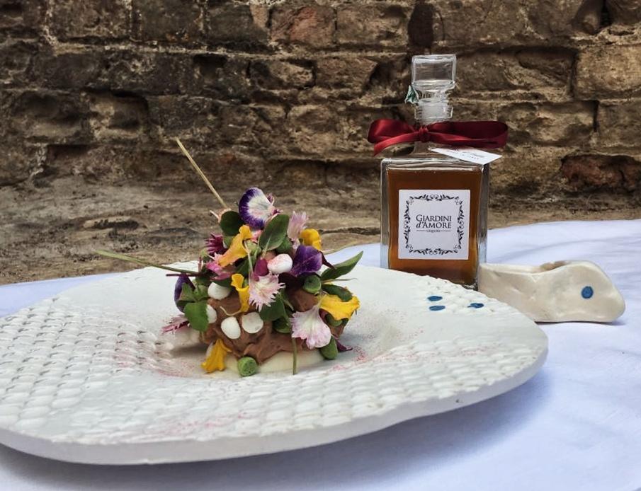 Il dolce Sinergia e Giardini d'Amore Liquori