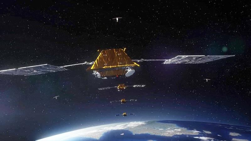 Iridium NEXT ©Thales Alenia Space_Master Image Programmes