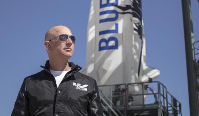 Jeff Bezos, fondatore di Blue Origin