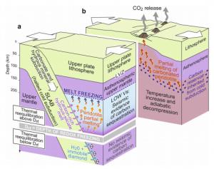 cattura carbonio mantello