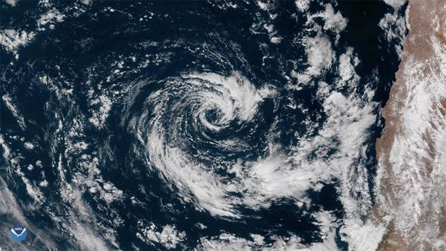 ciclone subtropicale cile