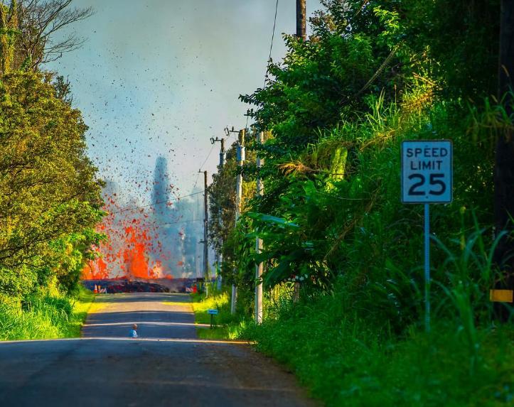 vulcano kilauea hawaii