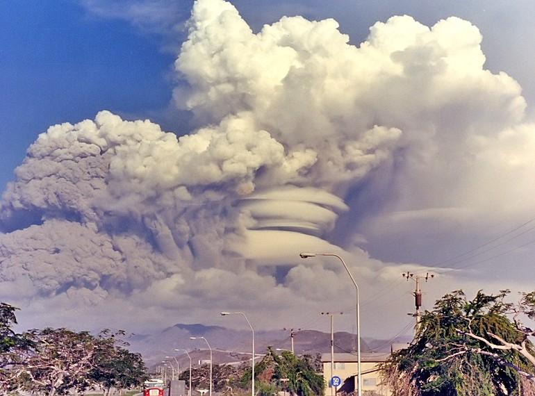 eruzione monte pinatubo
