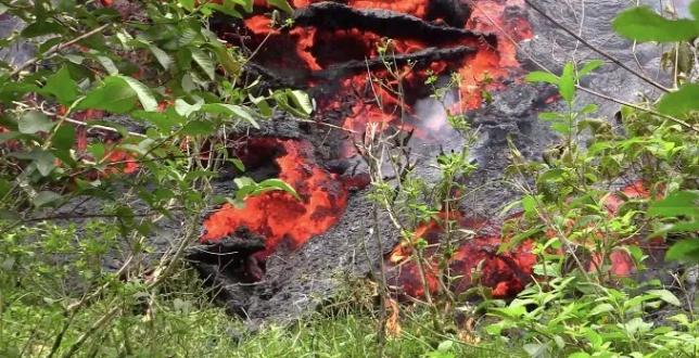 eruzione vulcano kilauea hawaii