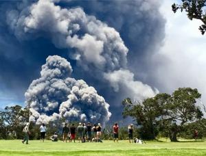 eruzione vulcano kiluaea hawaii
