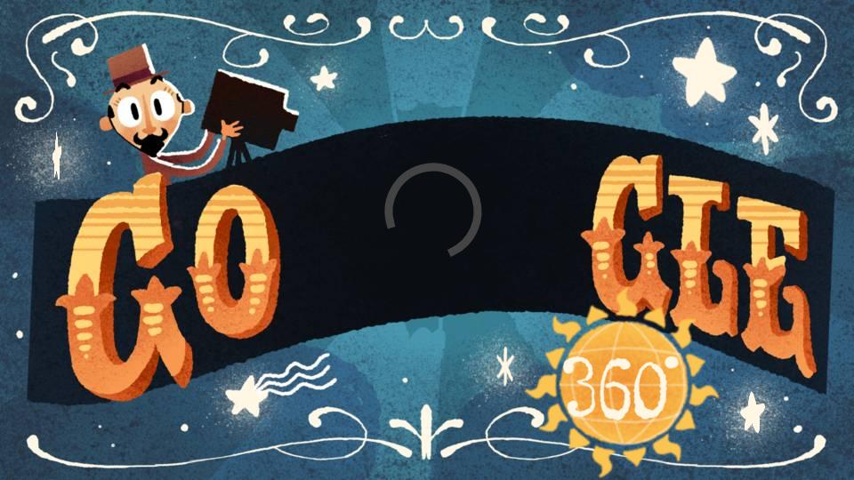 google doodle Georges Méliès
