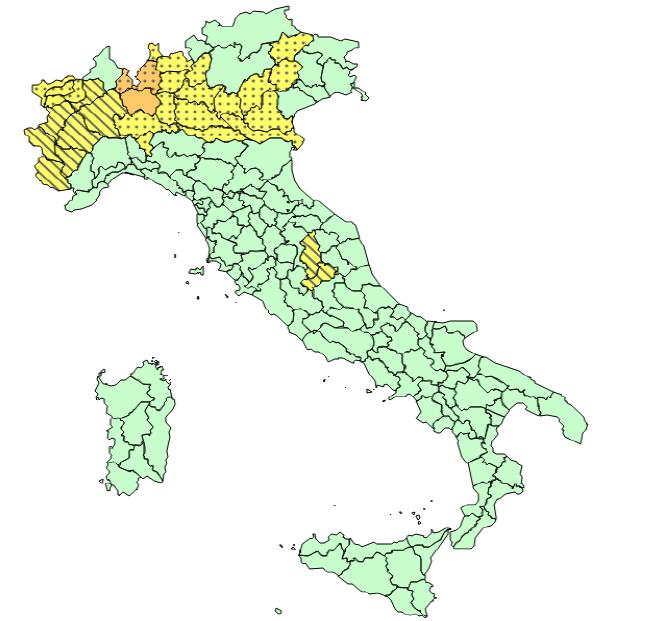 italia allerta meteo
