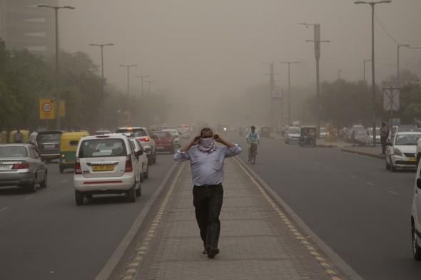 tempesta di sabbia India