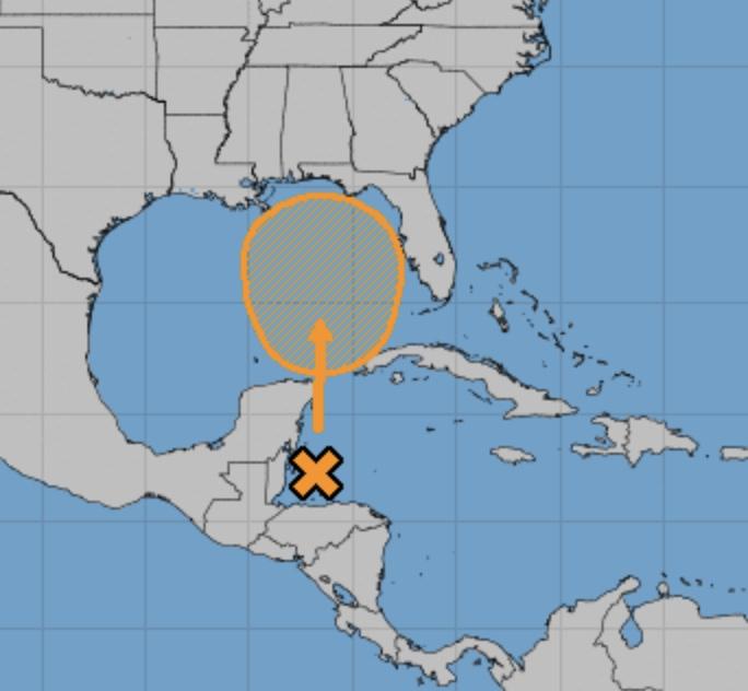 tempesta tropicale alberto