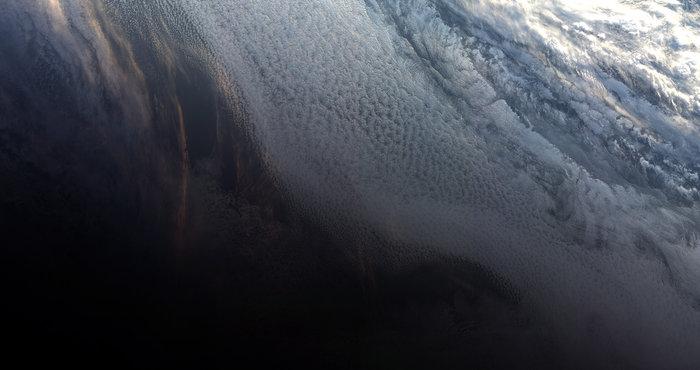 tramonto antartide sentinel-3b