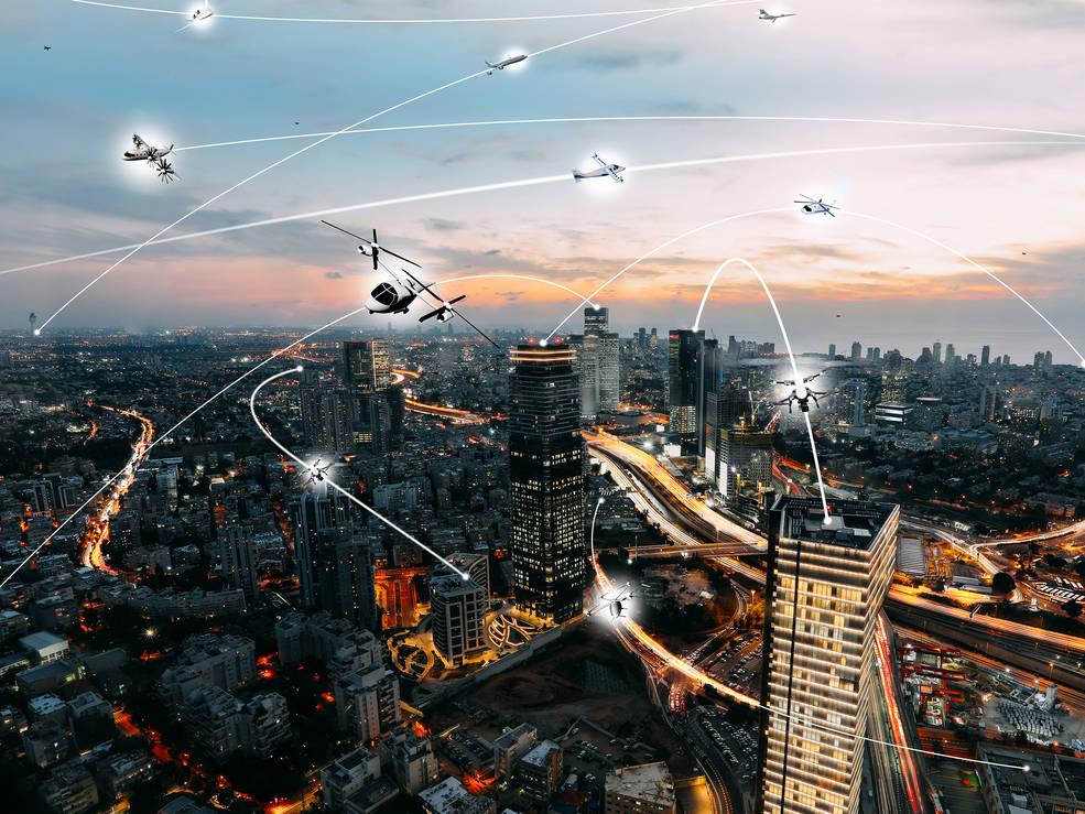 urban air mobility environment