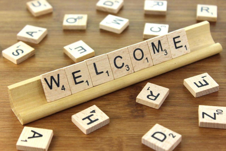 welcome benvenuto