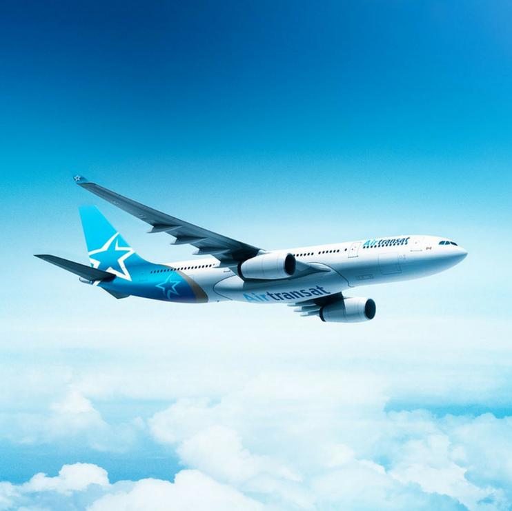 Air Transat aereo 2018 Nuova livrea