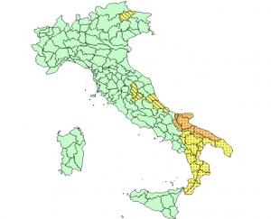 Allerta Meteo, forte maltempo sulle Adriatiche: nuovo avviso