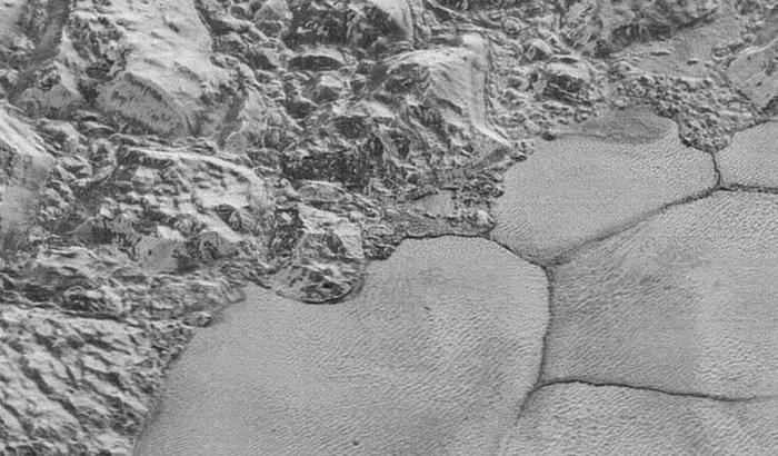 Le dune di Plutone
