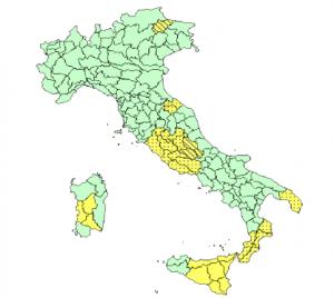 Allerta Meteo per la Tempesta di San Giovanni, la protezione civile lancia l'allarme per il Sud Italia [MAPPE ...