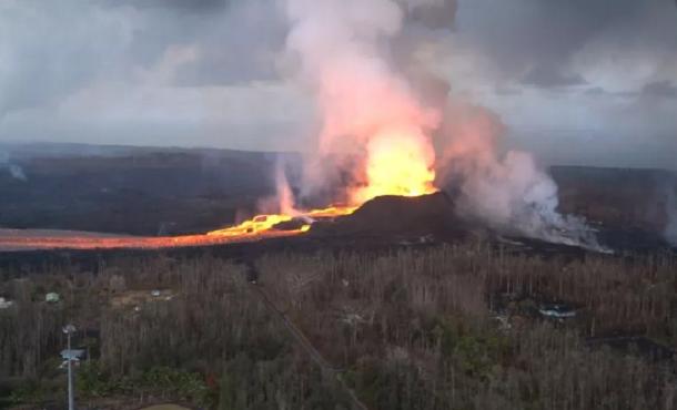 Vulcano Kilauea, situazione stabile nella sua criticità: div