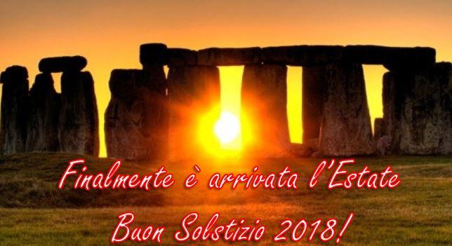 solstizio estate 2018