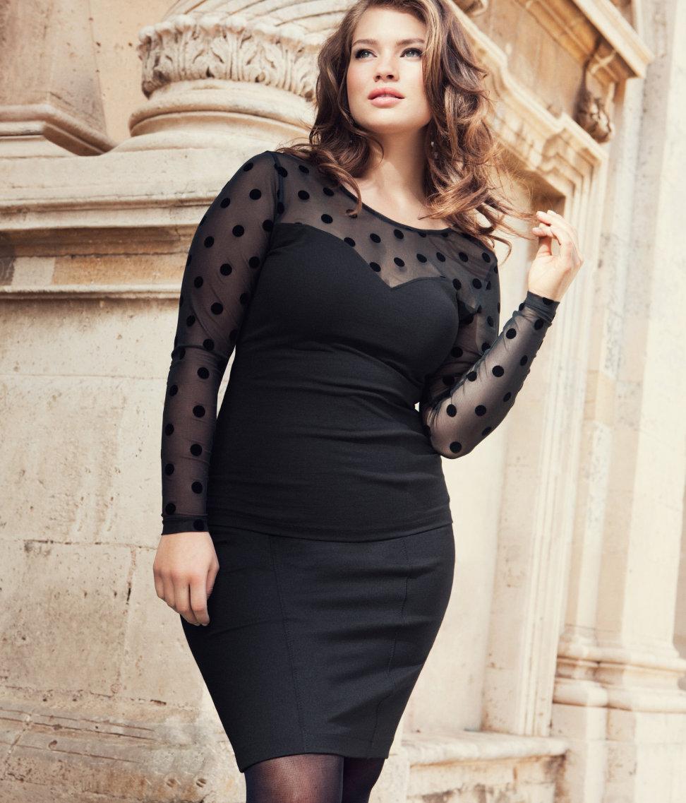 55b361ea3495 Molte sono le griffe di moda che hanno lanciato una loro linea dedicata  alle donne e agli uomini curvy