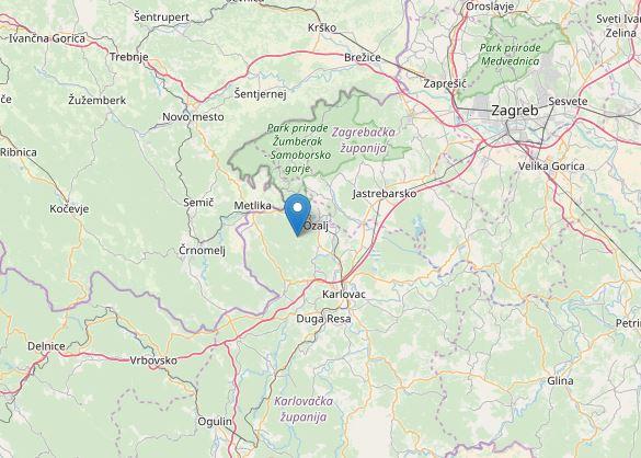 terremoto slovenia croazia