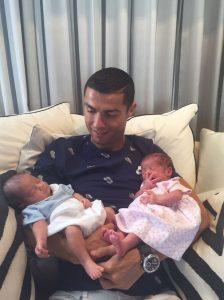 Cristiano Ronaldo fecondazione assistita