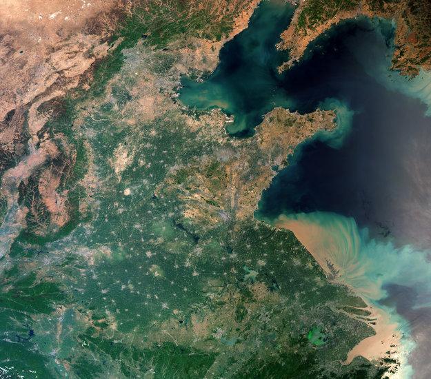 Shangai Ecco Una Delle Città Più Popolose Del Mondo Vista Dallo