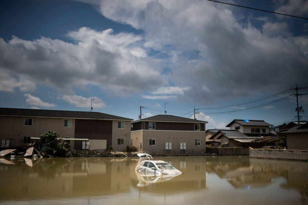 Alluvioni Giappone