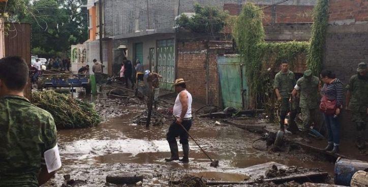 alluvioni messico