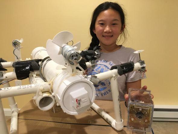 bambina USA inquinamento microplastiche
