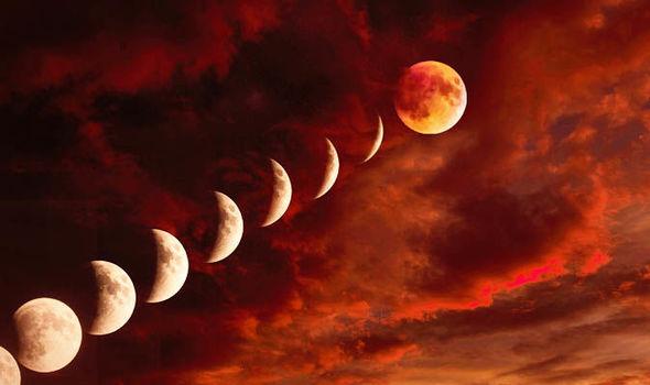 eclissi luna di sangue