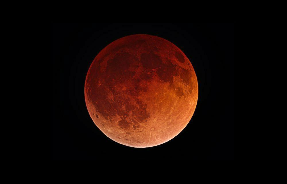 eclissi lunare foto