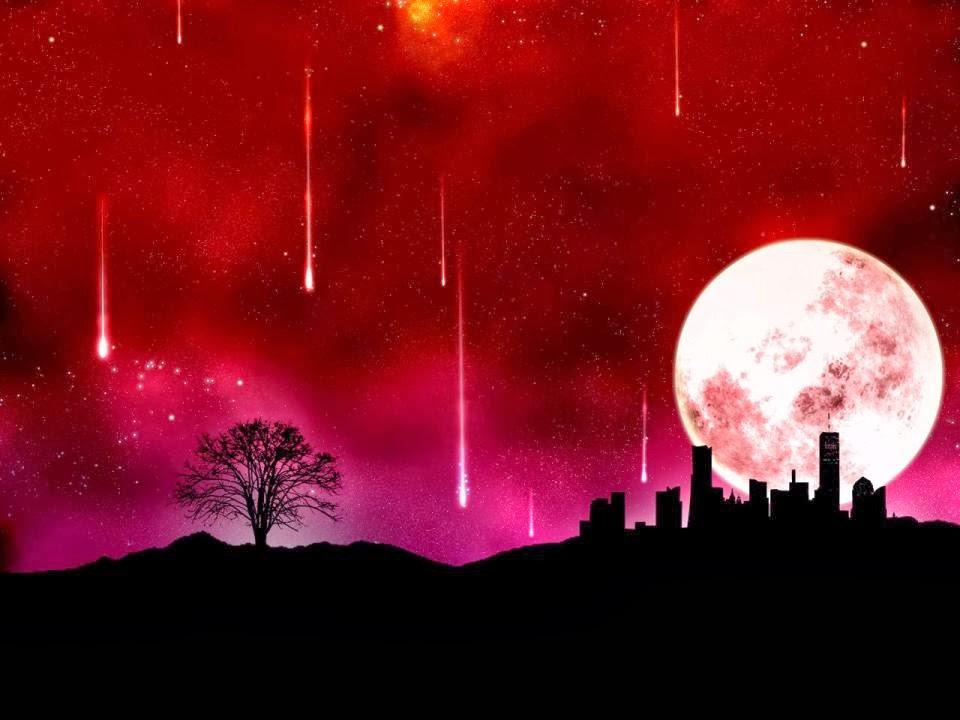luna di sangue fine del mondo