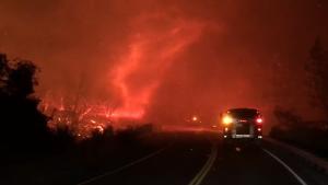 vortice di fuoco california