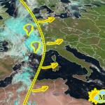 Allerta Meteo, violento shock termico in Europa: ecco la squall-line che spazza via il super caldo, colpirà anche l'Italia [MAPPE e DETTAGLI]