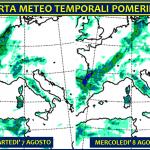 Allerta Meteo, ancora maltempo sull'Italia: sarà una settimana all'insegna dei forti temporali pomeridiani [MAPPE e DETTAGLI]