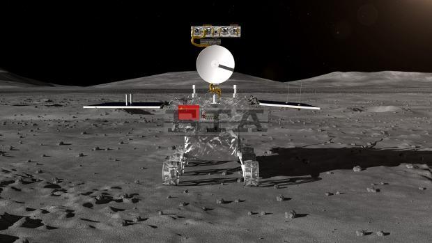 Chang'e-4 rover luna Cina
