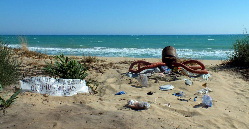 Marine Litter art