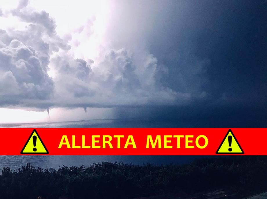 allerta meteo italia agosto 2018