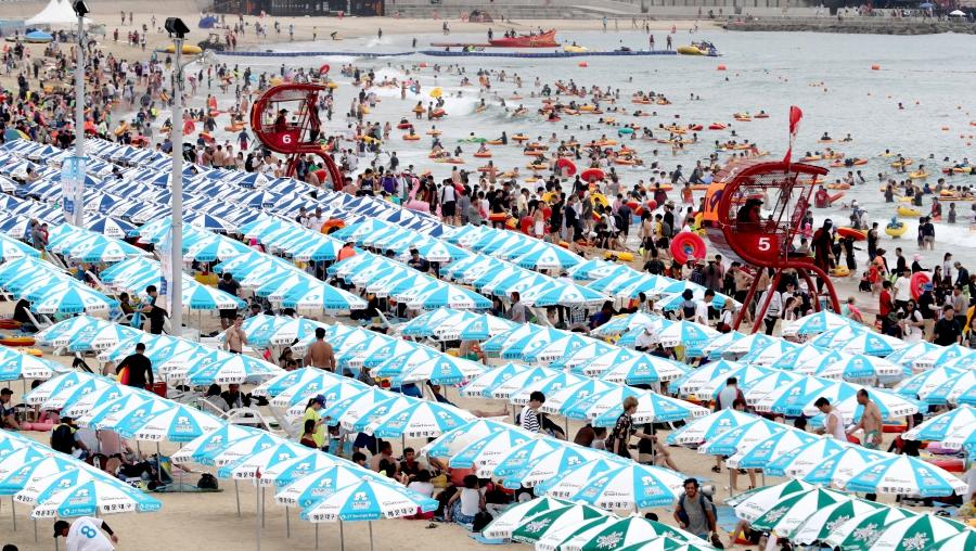 caldo record corea del sud