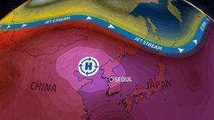caldo record coree del nord e del sud