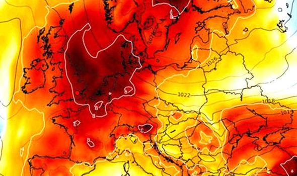caldo record europa