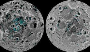 ghiaccio poli luna