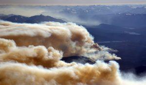 incendi British Columbia, Canada