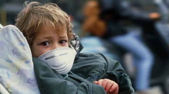 inquinamento bambini passeggini