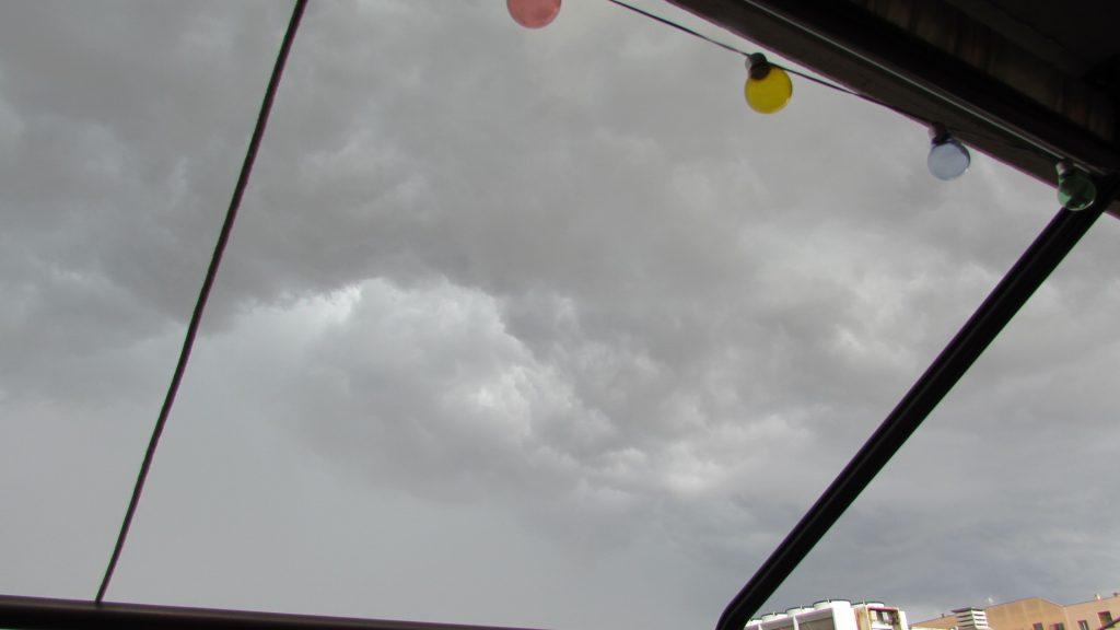 temporale estivo roma