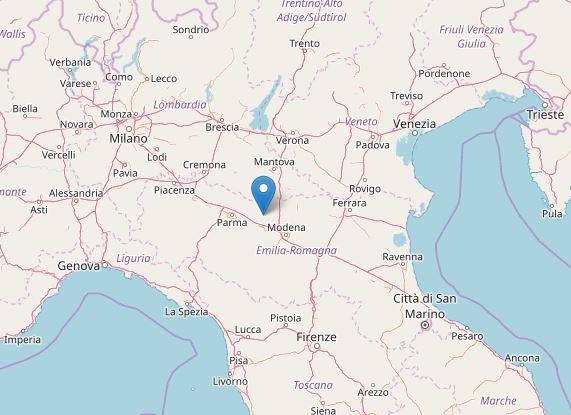 terremoto oggi nord emilia veneto lombardia